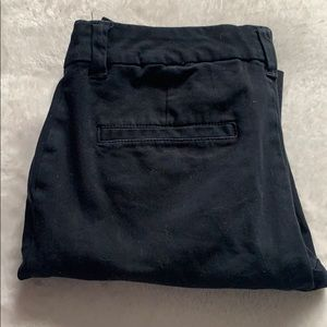 Straight leg dickies in black